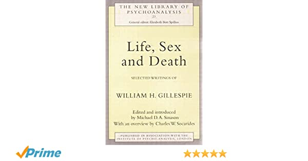 life sex and death sinason michael