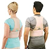 Skyfish Royal Posture Back Support Brace - Corrects Slouching And Eases Pain (XXL)
