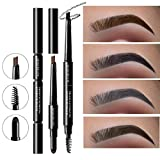 #5: MayCreate Brand 3 in 1 Eye Brows Set for Women Waterproof Brow Pencil + Powder + Brush Pigment Black Brown Eyebrow Kit 002