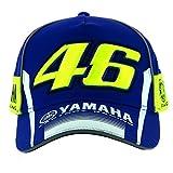 Moto Rider Shop Casquette Valentino Rossi ((Moto GP)) Yamaha Factory Racing Bleu