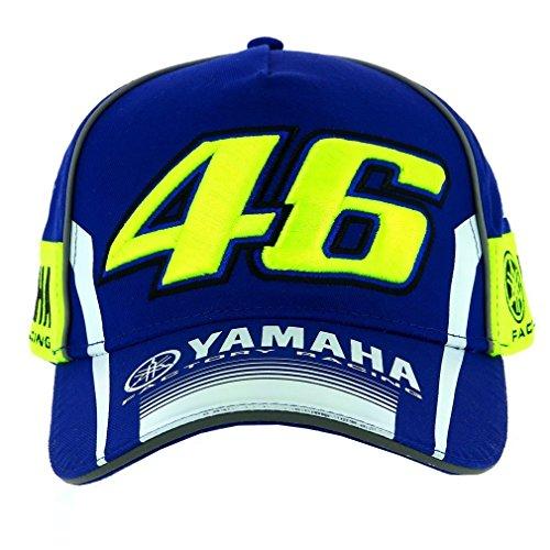 Gorra Valentino Rossi VR46 Moto GP M1 Yamaha Racing Team Azul