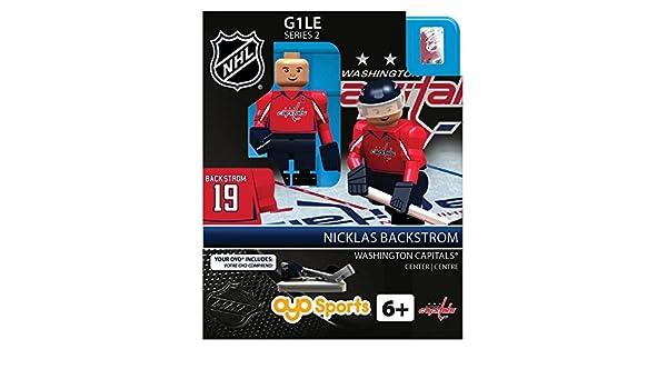 19d9121e0de ... Washington Capitals NHL OYO Minifigure Nicklas Backstorm Amazon.co.uk  Toys Games ...