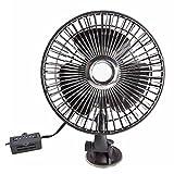 XX Ventilatoren Tischventilatoren Sauger-Art Auto mit Ventilator-12v24V Kühlungs-stummem Fan-Fan-Starken LKW-Fans (Größe : 12V)