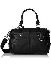 Gussaci Italy Women's Handbag (Black) (GUS079)