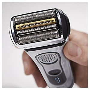 Braun Series 9 Electric Shaver for Men 9296cc, Wet and Dry, Integrated Precision Trimmer, Rechargeable and Cordless Razor ( UK 2- Pin Bathroom plug)