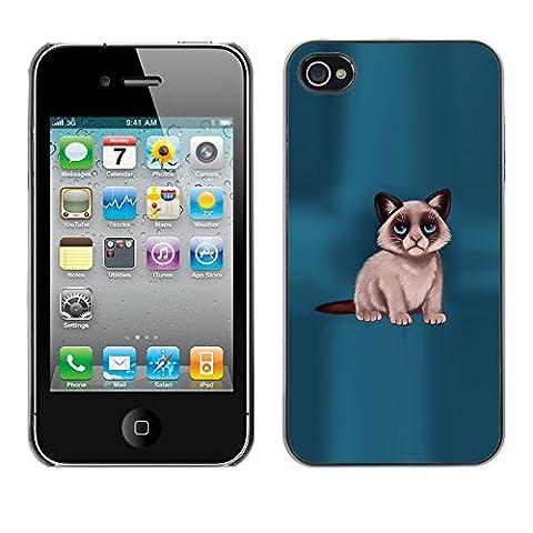 iKiki Tech Case Cover Housse Coque étui - Grumpy Cat