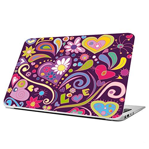 Decusto - Hippie Hearts - Adhesivo para tu Macbook Pro 15