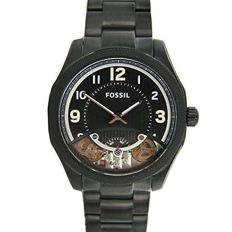 Fossil Herren Uhr Armbanduhr Twist schwarz ME1151