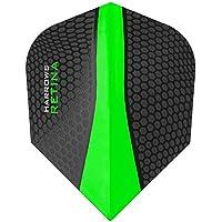Pear Form Harrows Flights RAPIDE-X Dartflight 100 Mikron stark 9 Farben