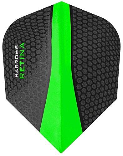 HARROWS Retina-100micron freccette-Scegli Colore e numero di set, Green, 3 Sets