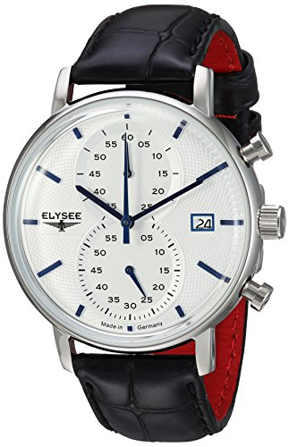 Mens Elysee Classic Chronograph Watch 83820