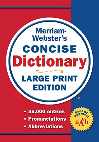 Merriam-Webster Concise Dictionary (Websters Wörterbuch Großdruck)