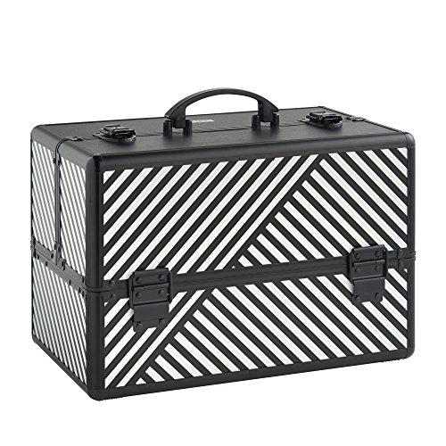 beautify-professional-large-lockable-vanity-make-up-beauty-storage-case-black-stripe