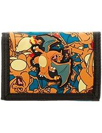 Pokemon Charizard Velcro Trifold Portefeuille