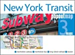 New York Transit Popout Map - handy p...