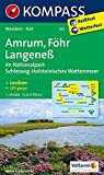 Amrum - Föhr - Langeneß: Wanderkarte mit Kurzführer und Radwegen. GPS-genau. 1:35000: Wandelkaart 1:35 000 (KOMPASS-Wanderkarten, Band 705)