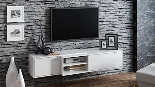 Tv Schrank SIGMA 1, Tv Lowboard, Hochglanz, Hängen oder Stand