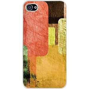 Casotec Vintage Colorful Pattern Design Hard Back Case Cover for Apple iPhone 5 / 5S