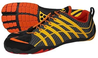 ZEMgear BarefootTerraTECH Ninja Chaussures nu-pieds unisexeSlate/sun Orange/Schwarz/Grau 11 US (45)