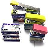 #4: Stapler No 10 Kangaro [Throat Length 52mm] 95mm x 35mm x 20mm + 3 set 20 x 50 staples + box keeper no 33 +Stapler Mini -10 +Stapler M-10
