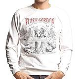 Flash Gordon Death Patrol Comic Strip Men's Sweatshirt