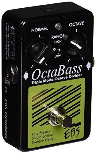 EBS ebsocse Octa Bass Studio Edition, Analog Compressor, 3Sonido Modes