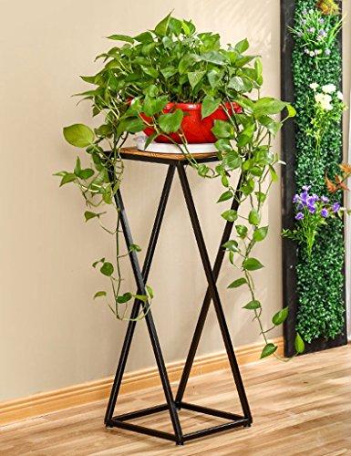 WSSF- Supports de pots Américain Simple Vintage Fer Fleur Stand Salon Chambre Fleur Pot Affichage Plateau Balcon Vert Plantes Fleur Rack Taille En Option (taille : 30*30*80cm)