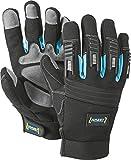 HAZET Mechaniker-Handschuhe (abriebbeständig, rutschfest, atmungsaktiv, waschbar, Größe: XXL) 1987-5XXL