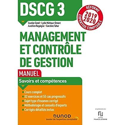 DSCG 3 Management et contrôle de gestion - Manuel - Réforme 2019-2020: Réforme Expertise comptable 2019-2020