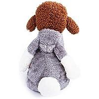 Ropa para Mascotas, Gusspower Sudadera con Capucha Forma de Conejo Chaqueta Terciopelo Ropa de Abrigo Invierno cálido cómodo para Mascotas Gato Perro