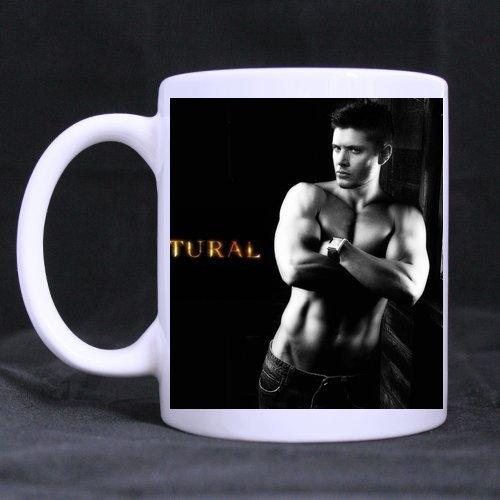 natural Dean 11Oz Weiß Tasse 100% Keramik Kaffee/Tee weiß Cup ()