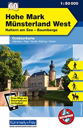 Hohe Mark 60 Munsterland West 2014 por Hallwag Kummerly+Frey AG