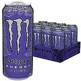 Monster Energy Ultra Violet Dose, 12er Pack (12 x 500 ml)