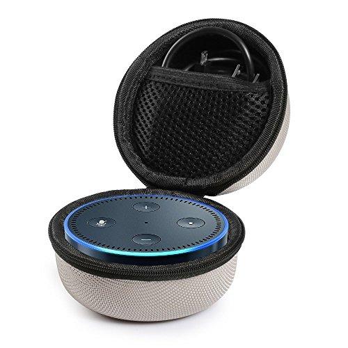 poschell Travel Tragetasche Sleeve tragbar Schutzbox für Amazon Echo Punkt und alle neuen Echo Dot 2