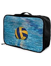 Travel Luggage Duffle Bag Lightweight Portable Handbag Water Polo Large  Capacity Waterproof Folble Storage Tote 78f5d399ec840