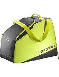 Salomon Extend go-to-snow gear bag - Bolsa para equipo de esquí (40L), gris/amarillo