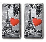 20 Taschent�cher (2x 10) City of Love ? Liebe liegt in der Stadt / Paris / Frankreich / Motivtaschent�cher medium image