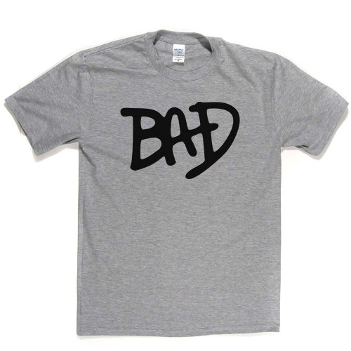 BAD T-shirt Aschgrau