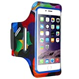 for iphone case & covers , Fashion Cool Concise Portable Durable Elegante Resistente per iPhone 8 Plus e 7 Plus e 6s Plus & 6 Plus FLOVEME Stampato Universal Smart Touch Fascia da braccio per telefono