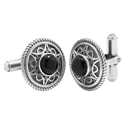 Voylla Fashion Silver Metal Cufflink Gift For Men  available at amazon for Rs.335