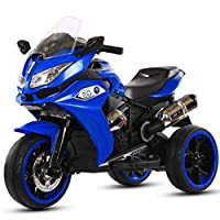 Dorsa BMW 1200GS Style Sports Motor Bike Ride On for Kids, Blue