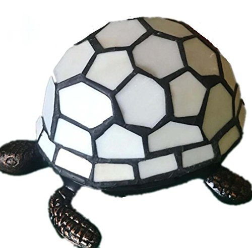 LED Tischleuchte, Kreative Persönlichkeit Schildkröte Nachtlicht, Studie Nachttischlampe Giftdesk LampE14 (Farbe : B)