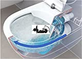 V&B Subway 2.0 Tiefspül Wand-WC mit DirectFlush 5614R0R1 Ceramicplus + WC Sitz SlimSeat Softclose