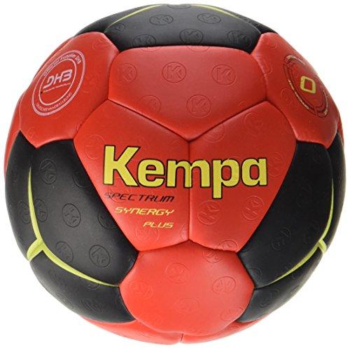 Kempa Bälle SPECTRUM SYNERGY PLUS, schwarz/rot/limonengelb, 1, 200187901