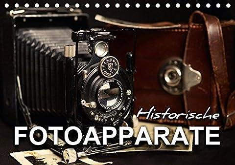 Historische Fotoapparate (Tischkalender 2018 DIN A5 quer): Nostalgische Bilder alter Fotoapparate erzählen die Geschichte der Fotografie aus früheren ... [Kalender] [Apr 01, 2017] Bleicher, Renate