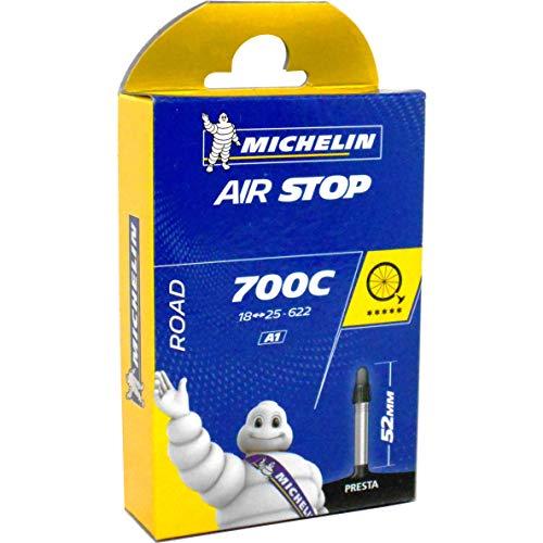 "Michelin 700X18-25 52MM - Cámara de ciclismo 28"", 18/25C - 622, 52mm"