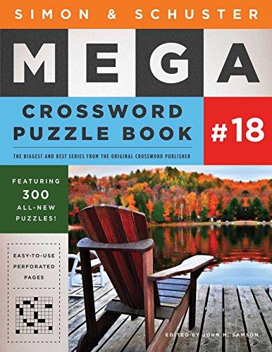 Simon & Schuster Mega Crossword Puzzle Book #18 (Volume 18) PDF Books