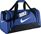 Nike Borsone da calcio Brasilia - Blu (Game Royal/Black/White) - 61 x 32 x 30 cm