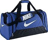 Nike Brasilia 6 Duffel Grip M BA4829 411 Unisex - Erwachsene Sporttasche/Tasche/Sportbag Blau M