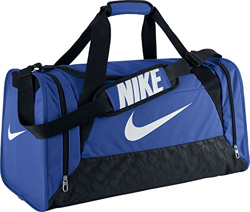 Nike Brasilia 6 Duffel Polyester Waist Pack, Men's Medium (Blue)